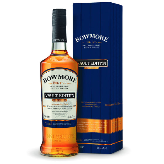 Bowmore Vault Edition No. 1 - Atlantic Sea Salt - The Whisky Shop Singapore