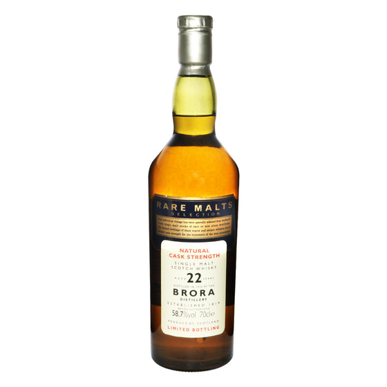 Brora 1972 22 Years #1 - Rare Malts Selections (58.7% ABV) - The Whisky Shop Singapore