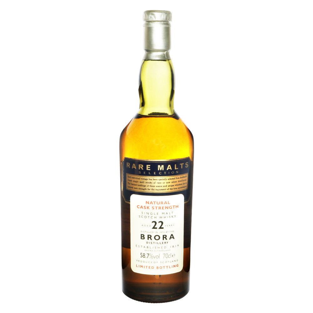 Brora 1972 22 Years Rare Malts Selections - Bottle 2 (58.7% ABV) - The Whisky Shop Singapore