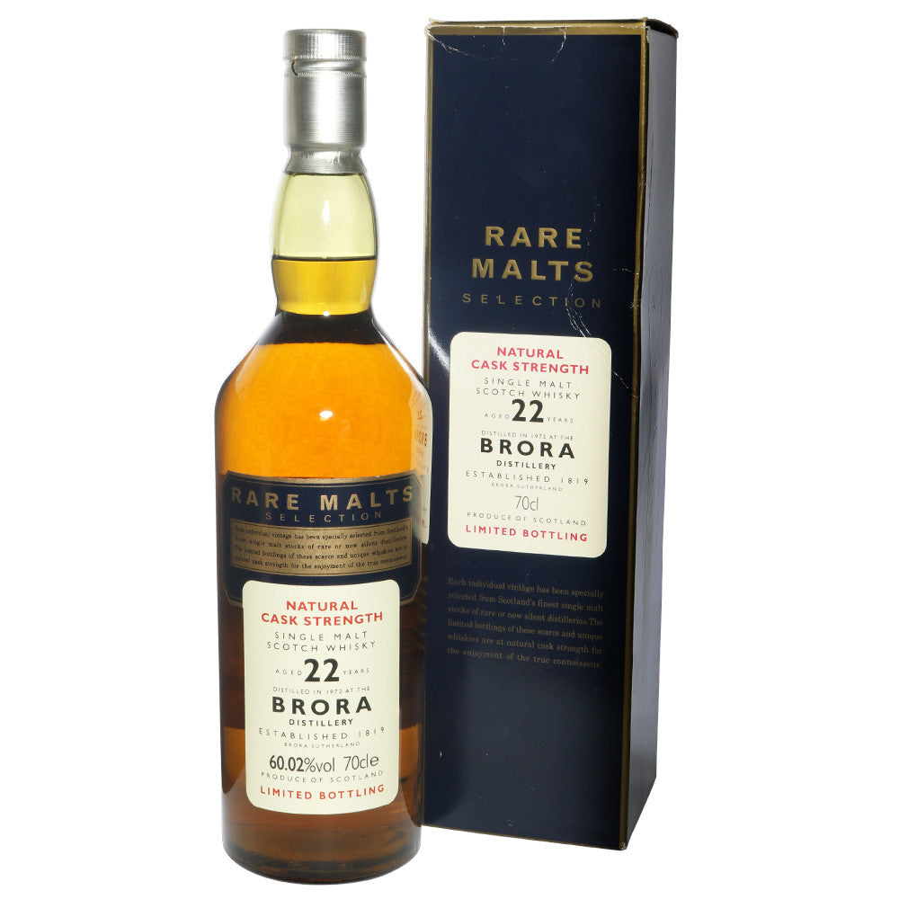 Brora 1972 22 Years - Rare Malts Selections (60.02% ABV) - The Whisky Shop Singapore