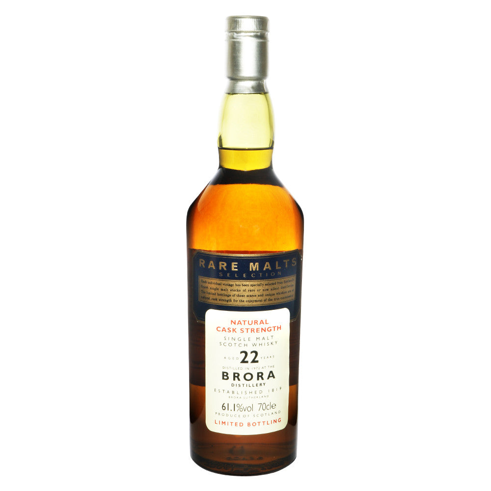 Brora 1972 22 Years - Rare Malts Selections (61.1% ABV) - The Whisky Shop Singapore
