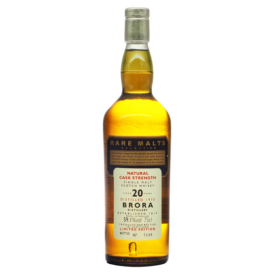 Brora 1975 20 Years - Rare Malts Selections (59.1% ABV) - The Whisky Shop Singapore