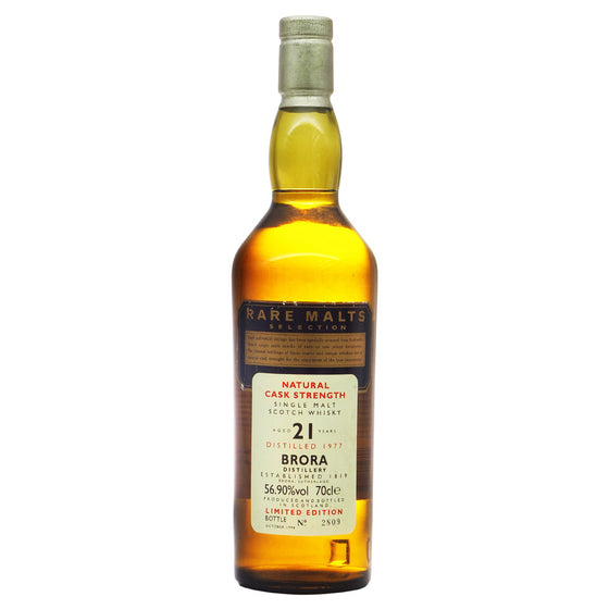 Brora 1977 21 Years #2809 - Rare Malts Selections - The Whisky Shop Singapore
