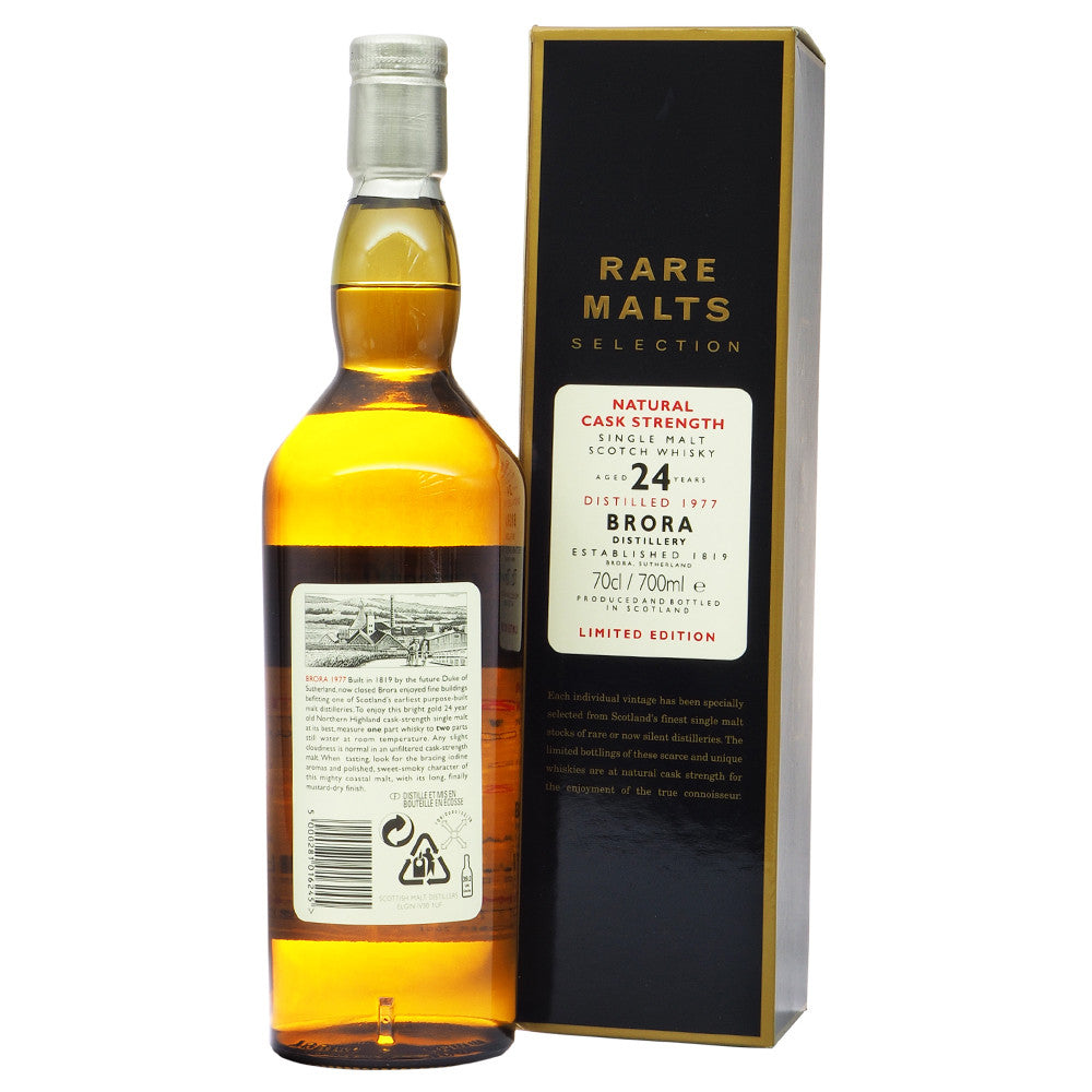 Brora 1977 24 Years Rare Malts Selections - Bottle No. 5839 - The Whisky Shop Singapore