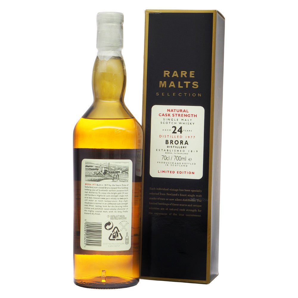 Brora 1977 24 Years #1634 - Rare Malts Selections - The Whisky Shop Singapore
