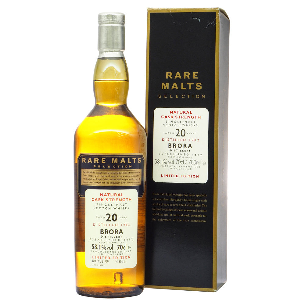 Brora 1982 20 Years - Rare Malts Selections - The Whisky Shop Singapore