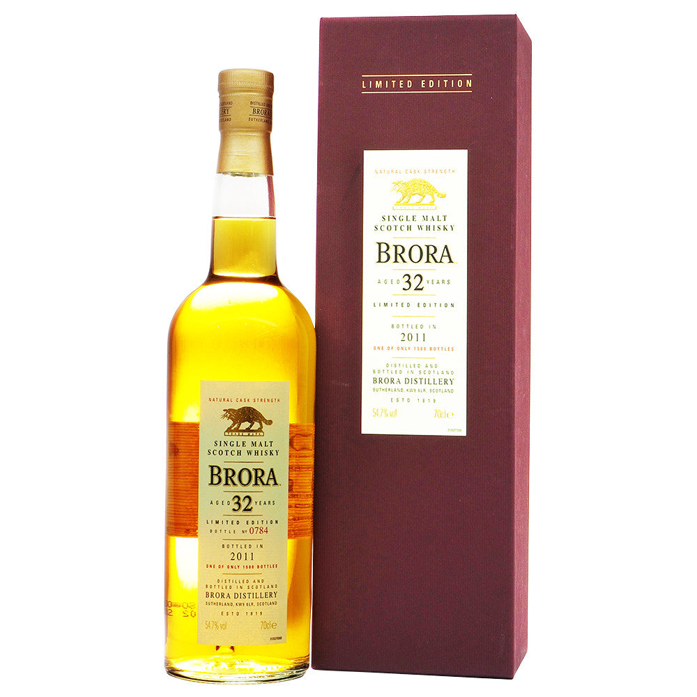 Brora 32 Years - 10th Special Release (Bot. 2011) - The Whisky Shop Singapore