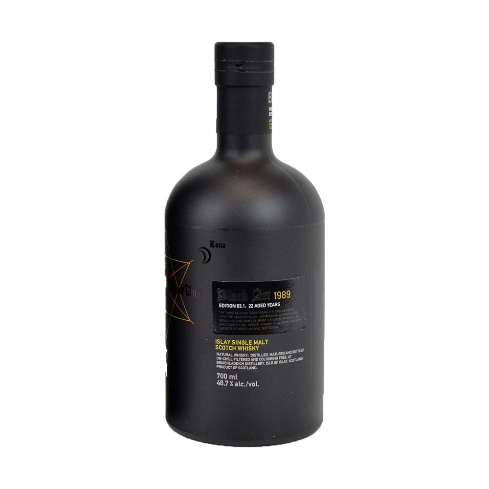 Bruichladdich 1989 22 Years - Black Art Edition - The Whisky Shop Singapore