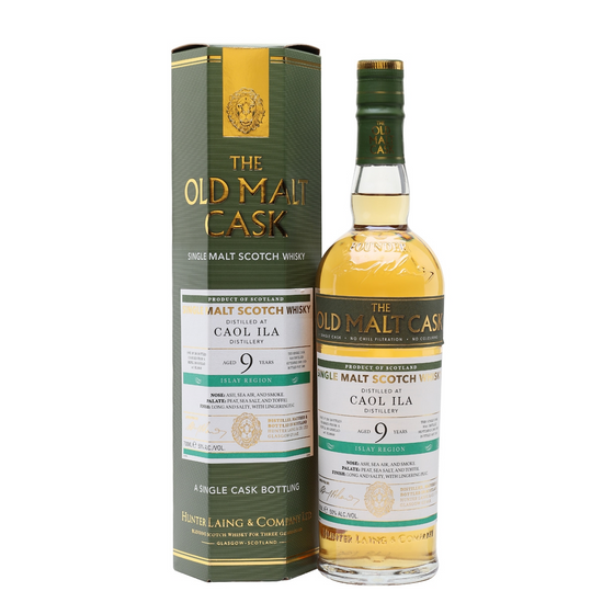 Caol Ila 2009 9 Years Old Hunter Laing / Old Malt Cask