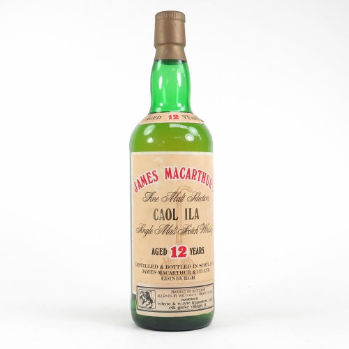 Caol Ila 12 Year Old James Macarthur's - The Whisky Shop Singapore