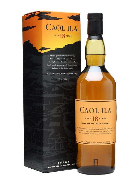 Caol Ila 18 Years - The Whisky Shop Singapore