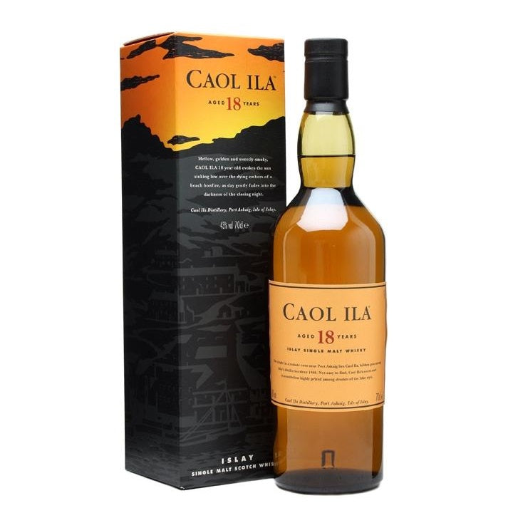 Caol Ila 18 Years 70cl - The Whisky Shop Singapore