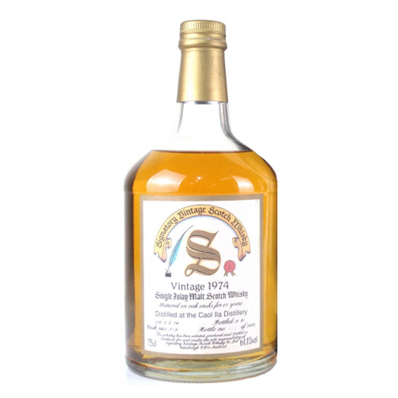 Caol Ila 1974 Signatory Vintage 17 Year Old - The Whisky Shop Singapore