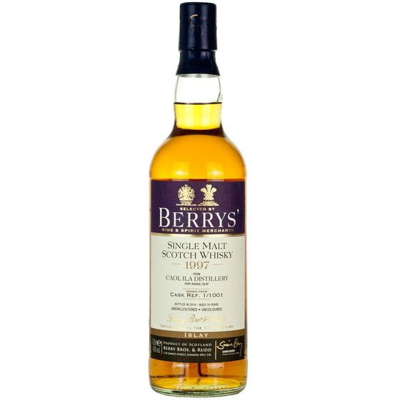 Caol Ila 1997 18 Year Old Berry Bros & Rudd (BERRY'S)