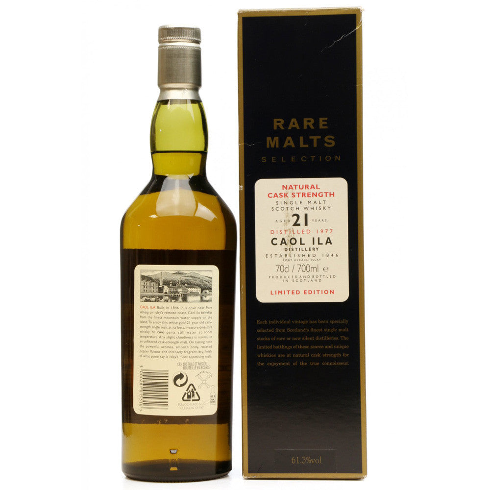 Caol Ila 1977 21 Years - Rare Malts Selections - The Whisky Shop Singapore