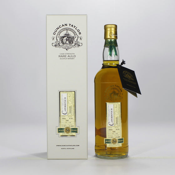 Caperdonich 1972 36 Years Duncan Taylor - Rarest of the Rare - The Whisky Shop Singapore