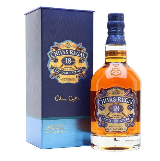 Chivas Regal 18 Years - The Whisky Shop Singapore