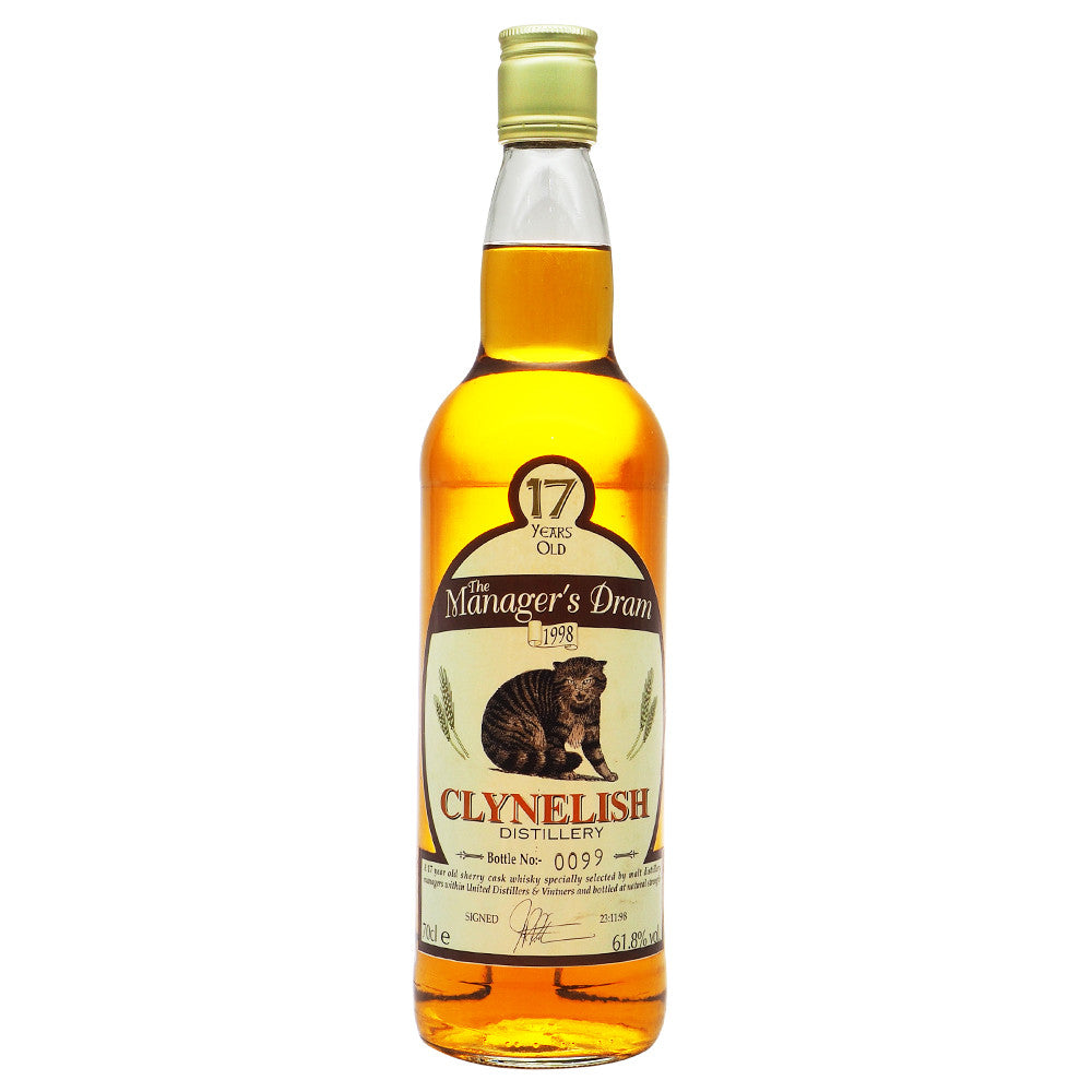 Clynelish 17 Years - Manager's Dram #99 - The Whisky Shop Singapore