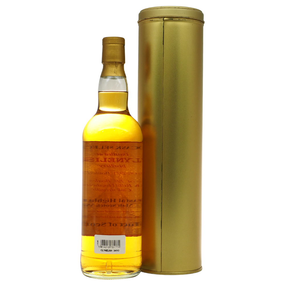 Clynelish 1971 M&H Cask Selection - The Whisky Shop Singapore
