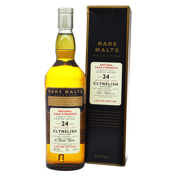 Clynelish 1972 24 Years - Rare Malts Selections - The Whisky Shop Singapore