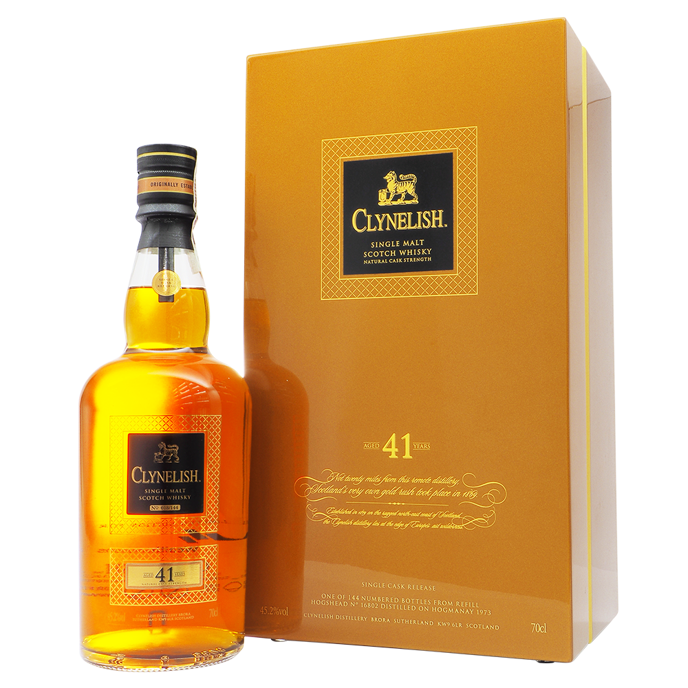 Clynelish 41 Years - The Whisky Shop Singapore