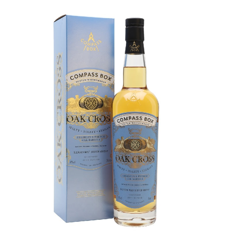 Compass Box Oak Cross 700ml with box - The Whisky Shop Singapore