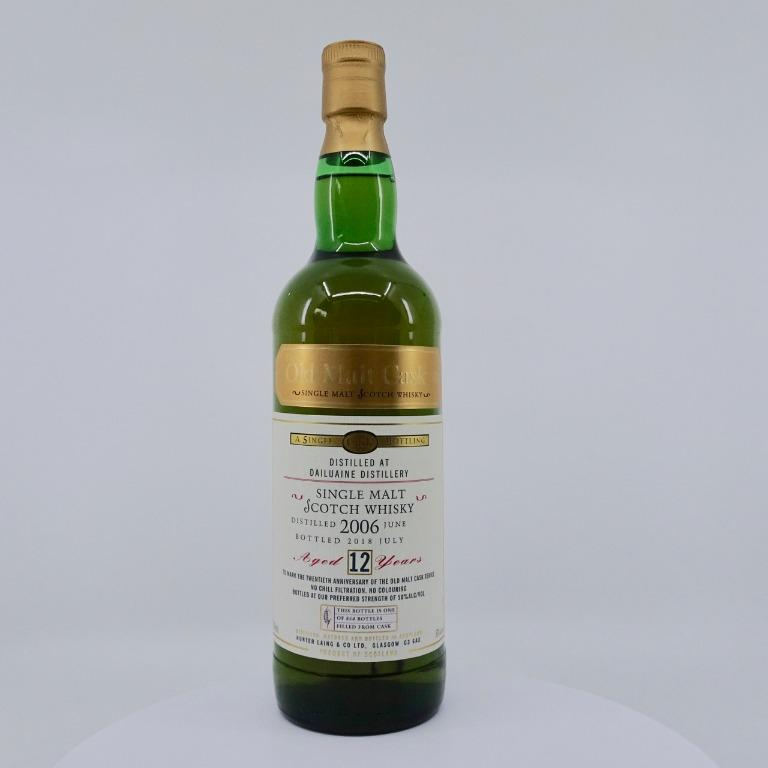 Dailuaine 2006 12 Years Old Hunter Laing / Old Malt Cask 20th Anniversary Edition