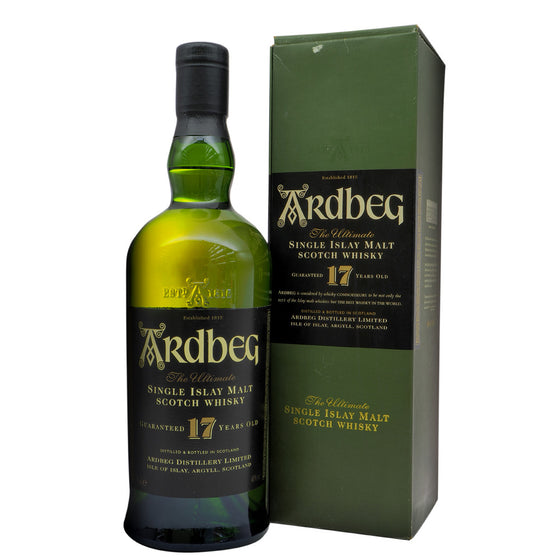 Ardbeg 17 Years Discontinued - Bottle 2 - The Whisky Shop Singapore