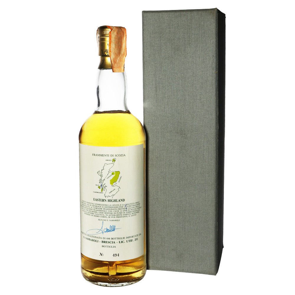 Glen Garioch 1975 12 Years Samaroli - Fragments of Scotland - The Whisky Shop Singapore