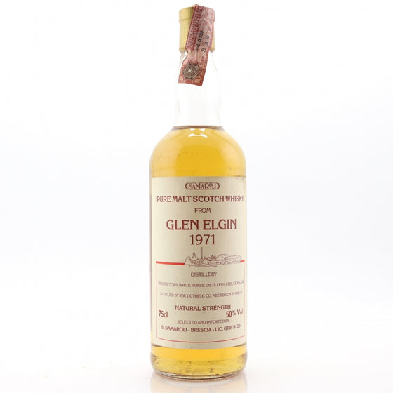Glen Elgin 1971 Samaroli - Natural Strength - The Whisky Shop Singapore