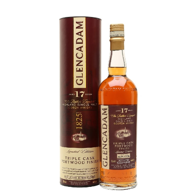Glencadam 17 Year Old Port Wood Finish - The Whisky Shop Singapore