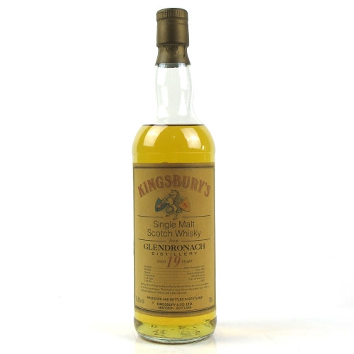 Glendronach 1976 19 Years Kingsbury - The Whisky Shop Singapore