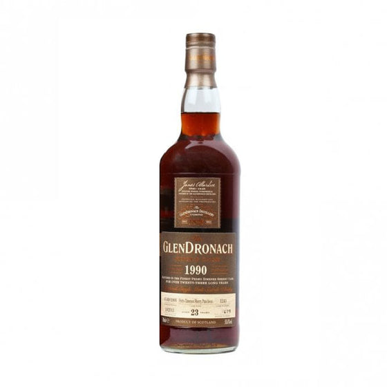 Glendronach 1990 23 Years Cask 1243 - The Whisky Shop Singapore