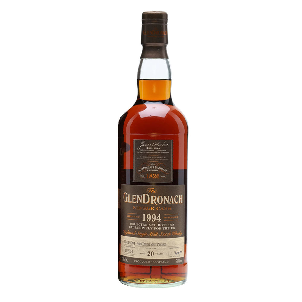 Glendronach 1994 20 Years Cask 2822 - The Whisky Shop Singapore