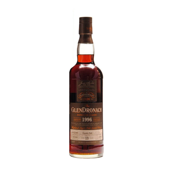 Glendronach 1996 13 Years Cask 209 - The Whisky Shop Singapore