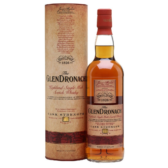 Glendronach Cask Strength Batch 6 - The Whisky Shop Singapore