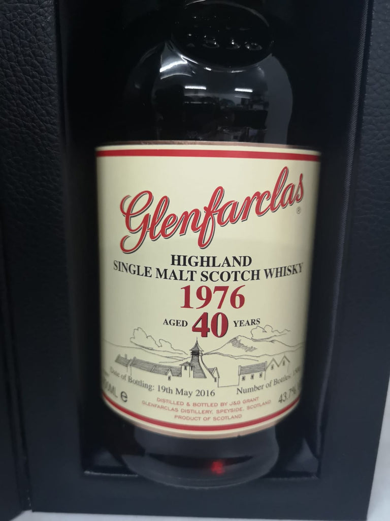 Glenfarclas 1976 40 Year Old - The Whisky Shop Singapore