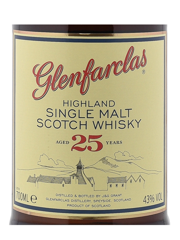 Glenfarclas 25 Years - The Whisky Shop Singapore