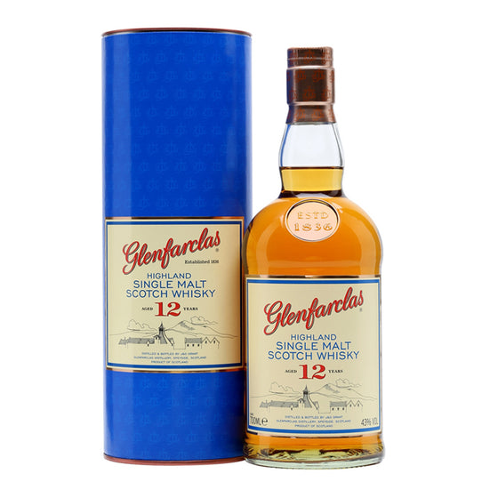 Glenfarclas 12 Years 1L - The Whisky Shop Singapore