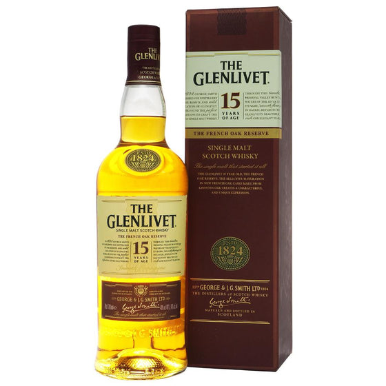 Glenlivet 15 Years - The Whisky Shop Singapore
