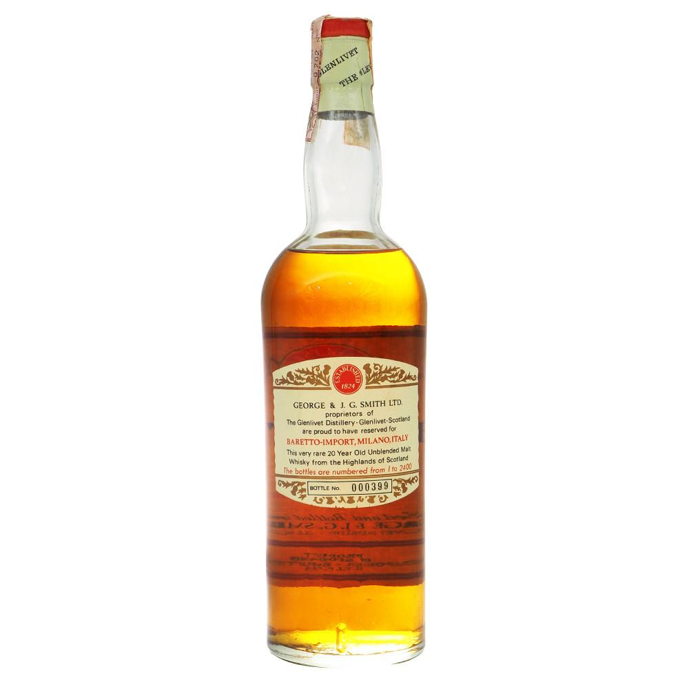 Glenlivet 20 Years (circa 1970) - The Whisky Shop Singapore