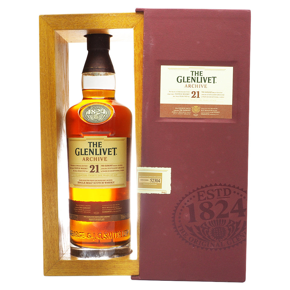 Glenlivet 21 Years - The Whisky Shop Singapore