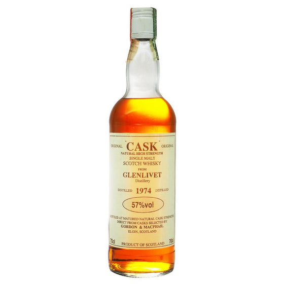 Glenlivet 1974 Gordon & MacPhail - Original 'Cask' - The Whisky Shop Singapore