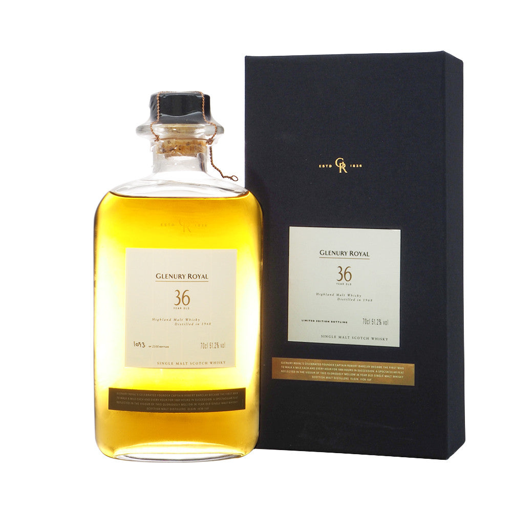 Glenury Royal 1968 36 Years - Diageo Special Release #1093 - The Whisky Shop Singapore