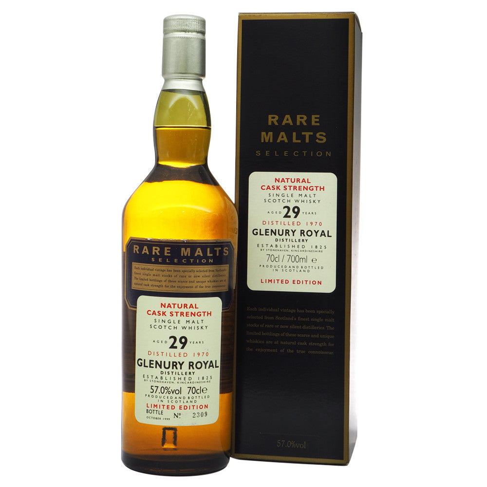 Glenury Royal 1970 29 Years Rare Malts Selections - Bottle No. 2309 - The Whisky Shop Singapore