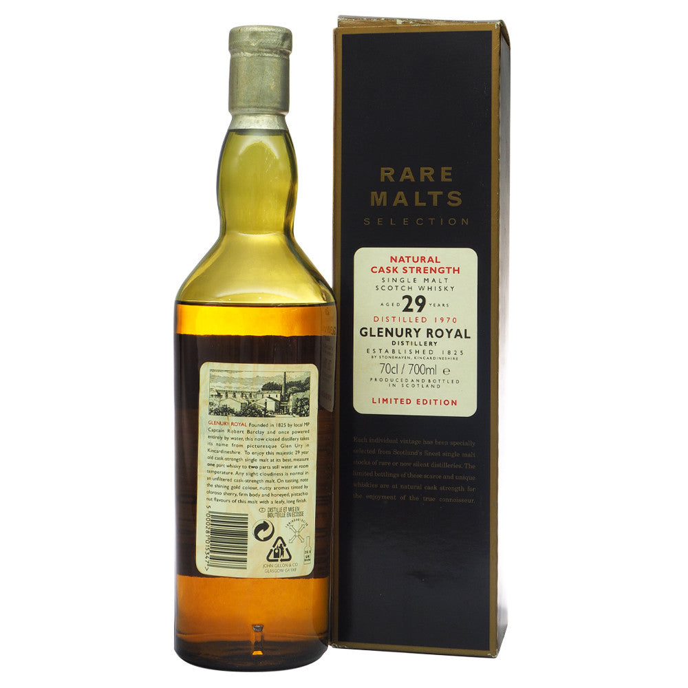 Glenury Royal 1970 29 Years - Rare Malts Selections #3096 - The Whisky Shop Singapore