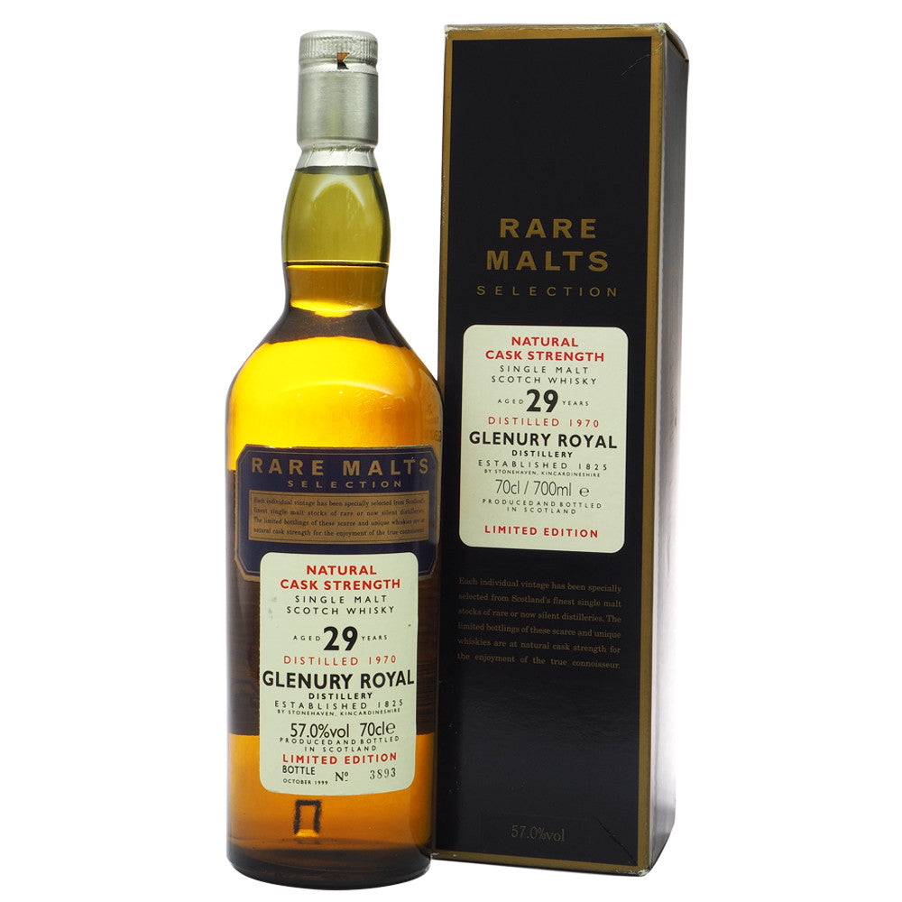 Glenury Royal 1970 29 Years - Rare Malts Selections #3893 - The Whisky Shop Singapore