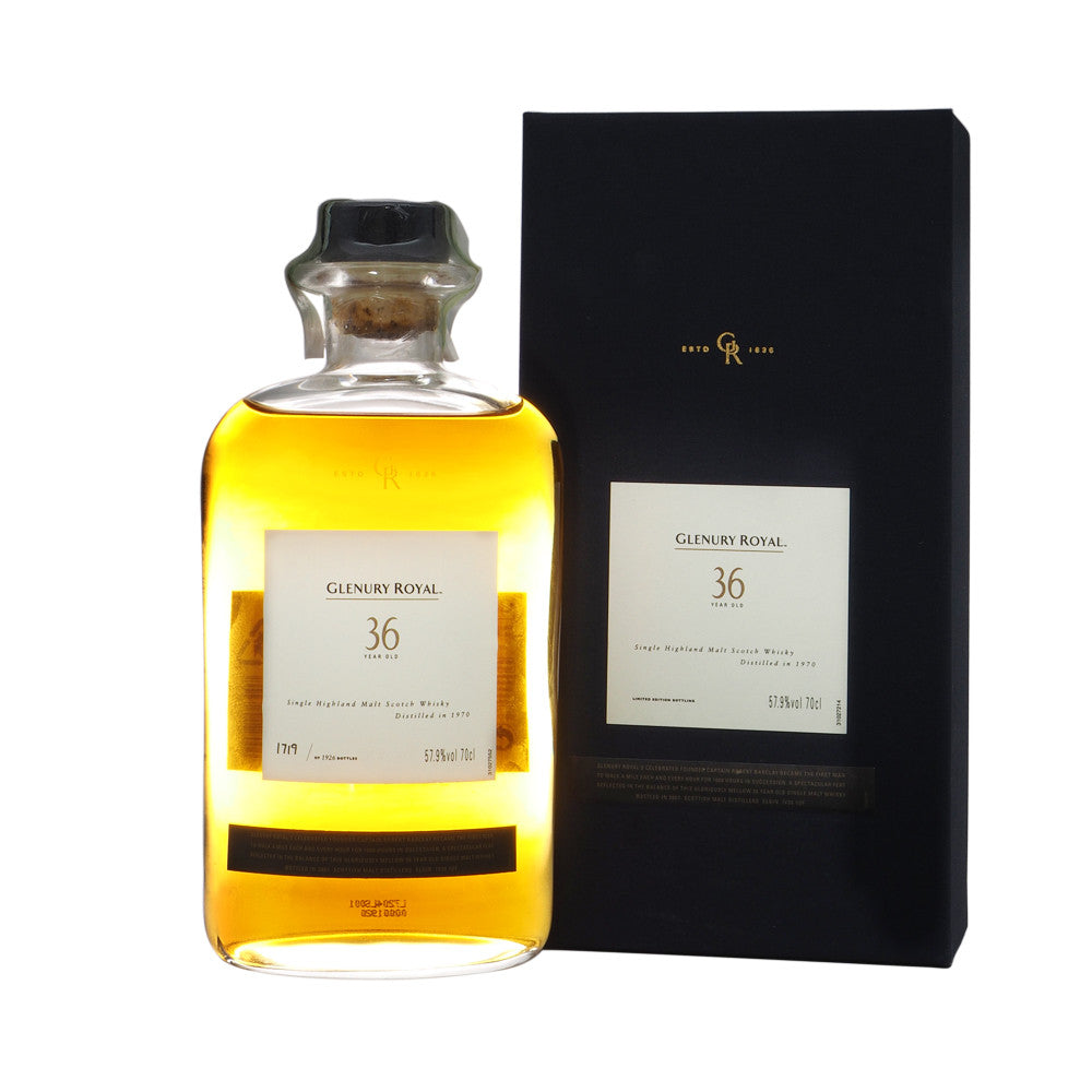 Glenury Royal 1970 36 Years - Diageo Special Release - The Whisky Shop Singapore