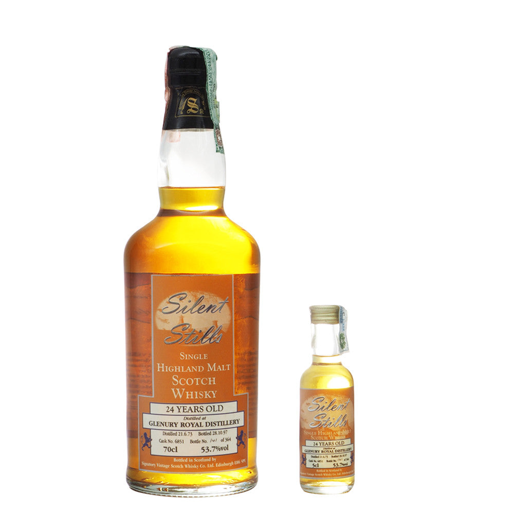 Glenury Royal 1973 24 Years Signatory Vintage - Silent Stills - The Whisky Shop Singapore