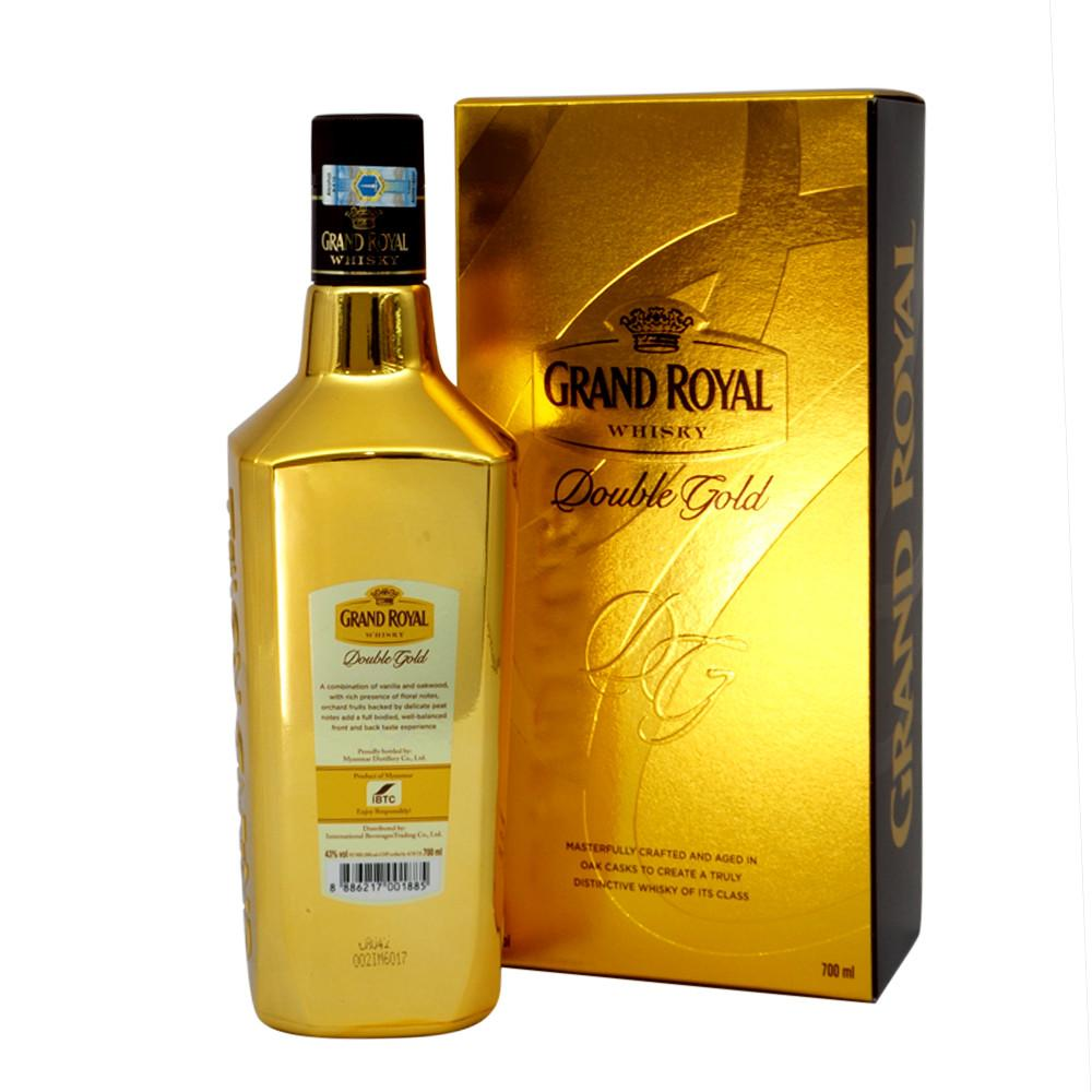 Grand Royal Double Gold - The Whisky Shop Singapore